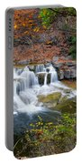 Finger Lakes Waterfall Portable Battery Charger