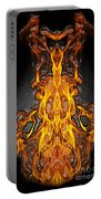Fire Leather Portable Battery Charger