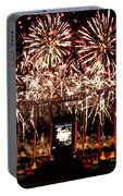 Fireworks At Kauffman Stadium Portable Battery Charger