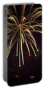 Fireworks In Neon Portable Battery Charger