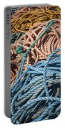 Fishing Ropes Portable Battery Charger