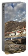 Fishing Village Of Molle In Sweden Portable Battery Charger
