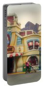 Five And Dime Disneyland Toontown Signage Portable Battery Charger