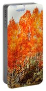 Flaming Aspens 2 Portable Battery Charger