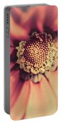 Flower Beauty II Portable Battery Charger by Marco Oliveira