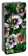 Flower Study I Portable Battery Charger