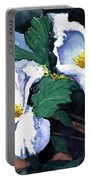 Flower Study II Portable Battery Charger