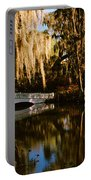 Footbridge Over Swamp, Magnolia Portable Battery Charger