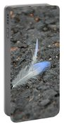 Found Feather Portable Battery Charger