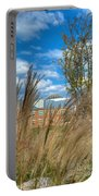 Founders Hall Through The Grasses Portable Battery Charger