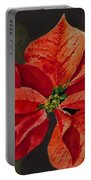 Franci's Poinsettia Portable Battery Charger