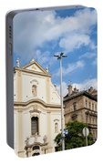 Franciscan Church Of Pest In Budapest Portable Battery Charger