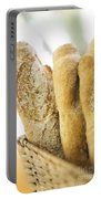 French Baguette In Basket Portable Battery Charger