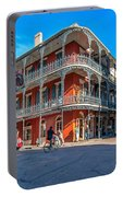 French Quarter Afternoon Portable Battery Charger