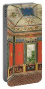 Fresco Decoration In The Summer House Portable Battery Charger
