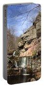 Fresh Water Streams Around Poconos Pa America Usa  Portable Battery Charger