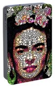 Frida Kahlo Art - Define Beauty Portable Battery Charger