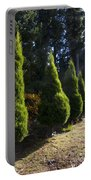 Funeral Cypress Trees Portable Battery Charger