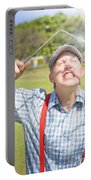Funny Golf Portable Battery Charger