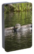 Gadwall Pair Portable Battery Charger