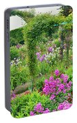 Garden Of Claude Monets House, Giverny Portable Battery Charger
