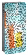 Geometric Abstract Portable Battery Charger