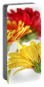 Gerbera Flowers Portable Battery Charger