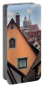 German Rooftops Impasto Portable Battery Charger