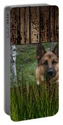 German Shepard Portable Battery Charger