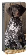 German Short-haired Pointer Dog Portable Battery Charger