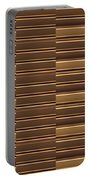 Gold Golden Strips Stripes 36x12 Horizontal Landscape Energy Graphics Background Designs  And Color  Portable Battery Charger
