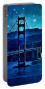 Golden Gate Bridge Night Portable Battery Charger