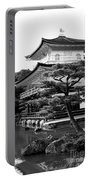 Golden Pagoda In Kyoto Japan Portable Battery Charger by David Smith