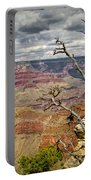Grand Canyon View From The South Rim Portable Battery Charger