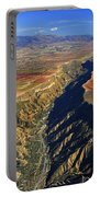 Great Canyon River Gor In Spain Portable Battery Charger
