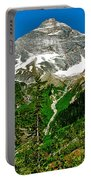 Great Glacier Trail In Glacier Np-british Columbia Portable Battery Charger