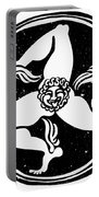 Greece Triskelion Portable Battery Charger