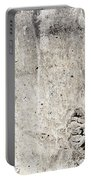 Grunge Concrete Texture Portable Battery Charger