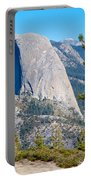 Half Dome From Sentinel Dome Trail In Yosemite Np-ca Portable Battery Charger