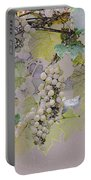 Hanging Thompson Grapes Sultana Portable Battery Charger