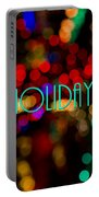 Happy Holidays  Portable Battery Charger