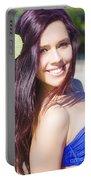 Hawaiian Girl In Hawaii Portable Battery Charger