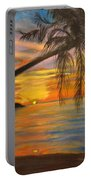 Hawaiian Sunset 11 Portable Battery Charger
