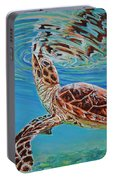 Green Turtle Portable Battery Charger