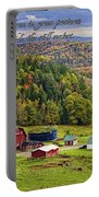 Hillside Acres Farm Portable Battery Charger