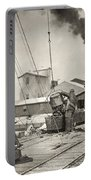 Hine Oyster Fishing, 1911 Portable Battery Charger