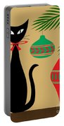 Holiday Cat Portable Battery Charger