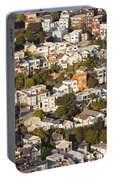 Homes Of San Francisco Portable Battery Charger