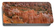 Hoodoo Rock Formations In A Canyon Portable Battery Charger