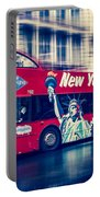 hop on hop off  through NYC Portable Battery Charger